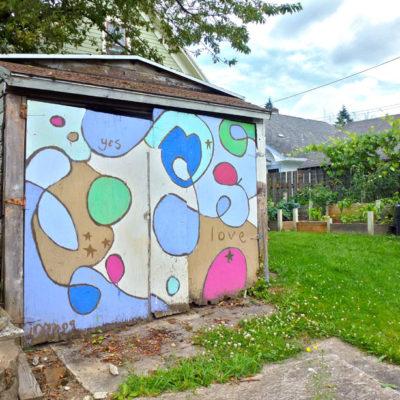 Yes Love Mural, NE Portland
