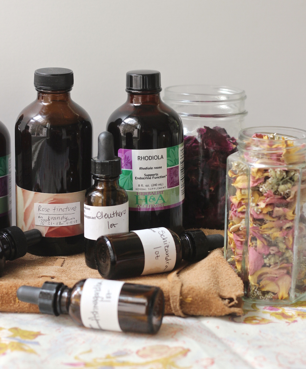 tinctures for blending