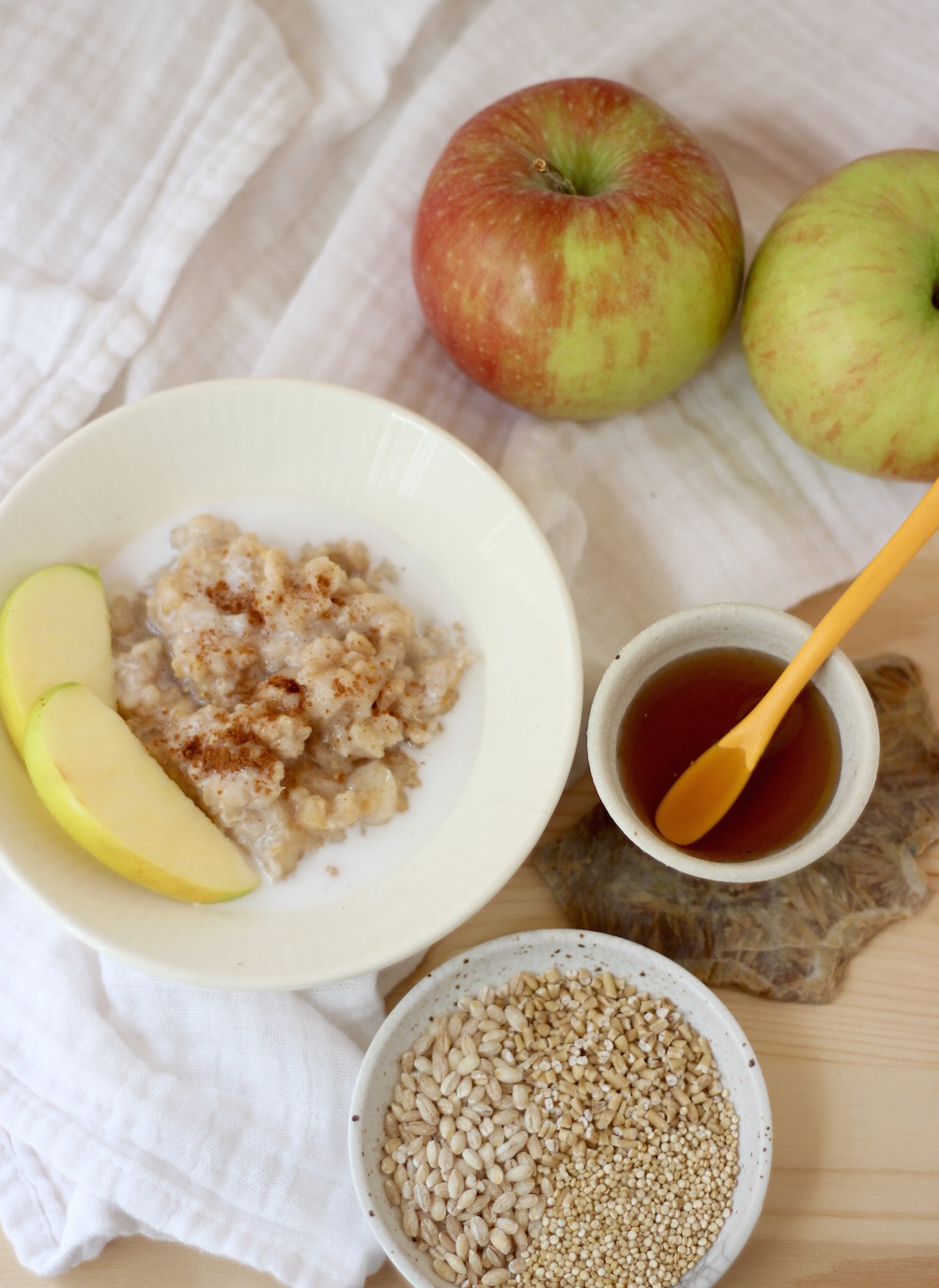 3 grain apple cereal2
